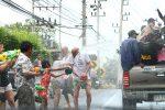 Сонгкран, Тайский Новый Год.