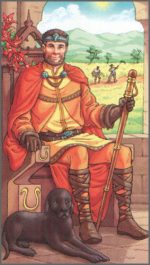 КОРОЛЬ посохов (KING OF WANDS, KING OF RODS)