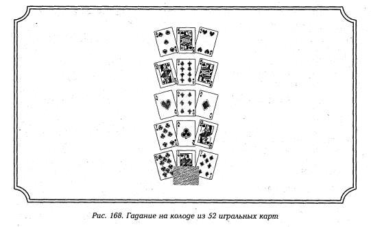 расклад гадание на 52 картах