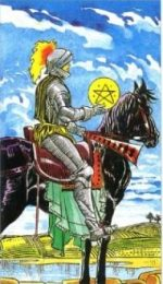 РЫЦАРЬ ПЕНТАКЛЕЙ (KNIGHT OF PENTACLES)